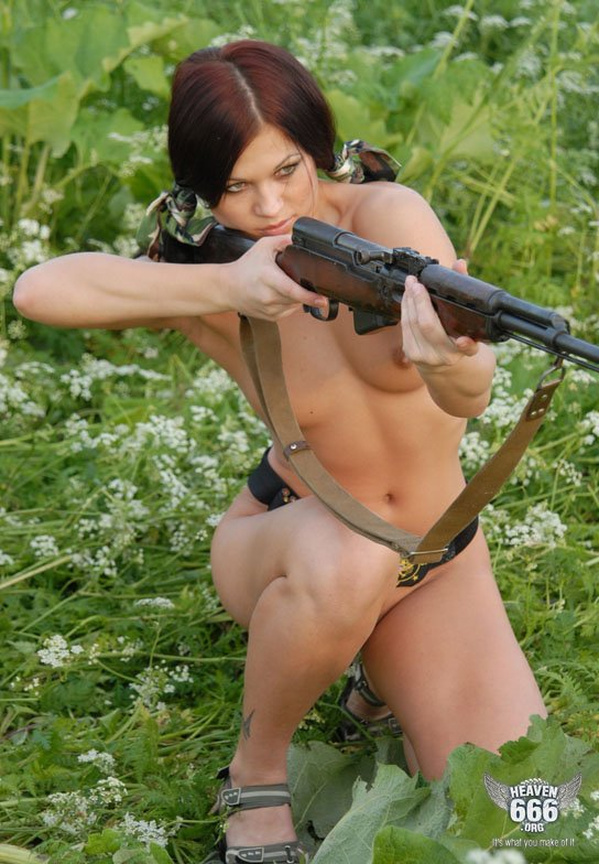 Women and gun nude opinion